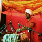Mendi Singh playing the Tabla
