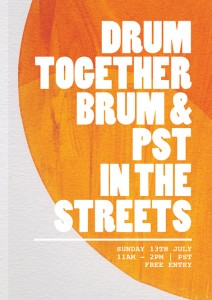 Drum Together Drum - Street Fest - Front